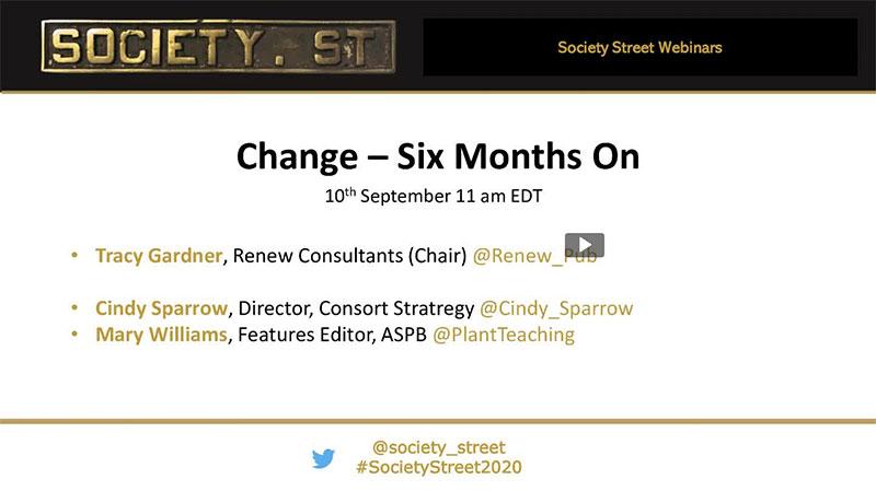 Events - Society Street